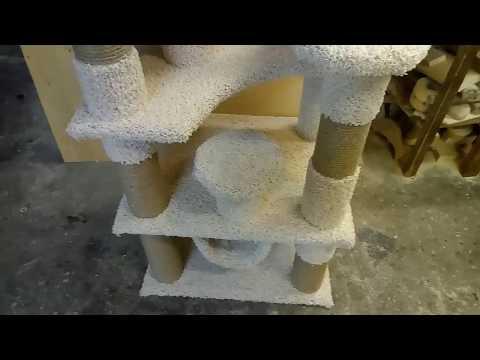 Как сделать когтеточку для кошек.