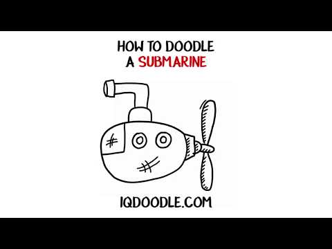 How to Draw a Submarine (drawing tips)