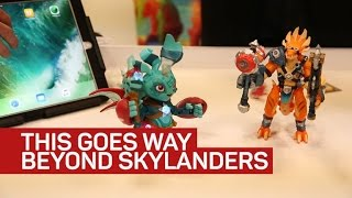 In Lightseekers, your action figure is the game controller