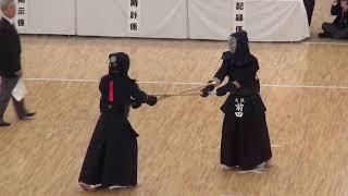 Takeshita vs Maeda    Quarter Final, 66th All Japan Kendo Championship 4