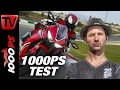1000PS Test | Engl Subs | Honda CBR1000RR Fireblade / SP 2017 | Great Sound | Great Handling