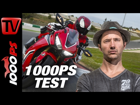1000PS Test | Engl Subs | Honda CBR1000RR Fireblade / SP 2017 | Great Sound | Great Handling Foto