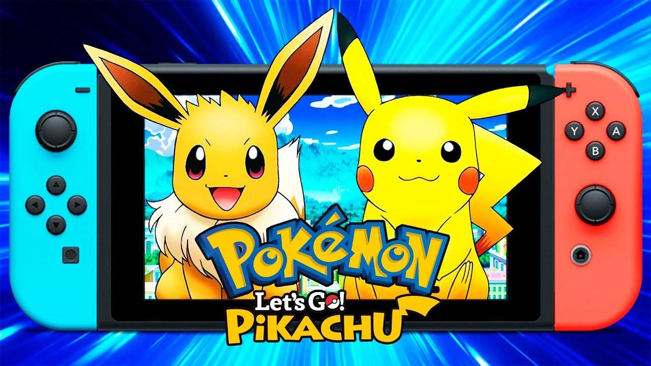 Pokemon Let S Go Pikachu Let S Go Eevee Nuevos Juegos Nintendo