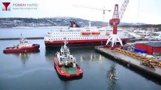 Fosen Yard   Hurtigruten