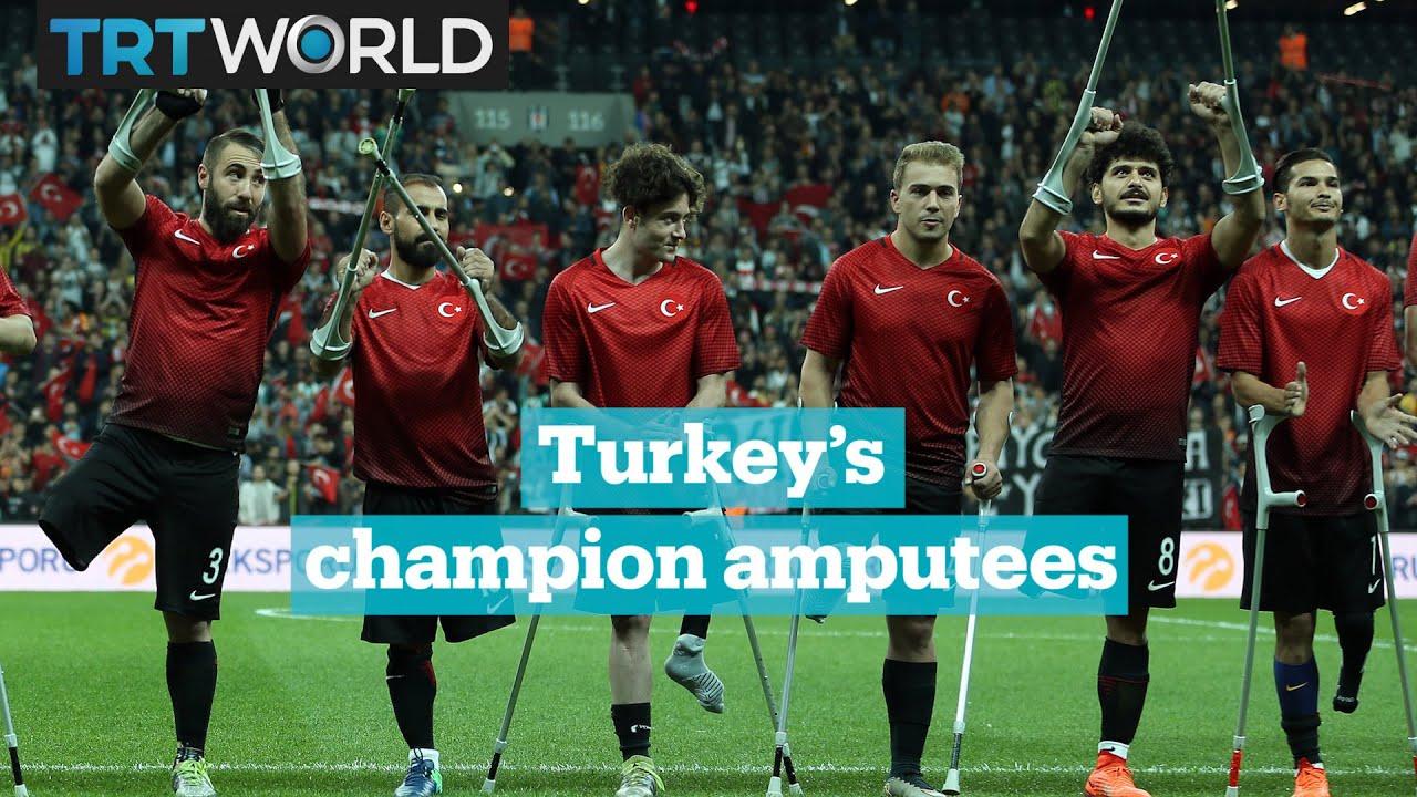 f6b7a5b81 Turkey national amputee football team are European champions - YouTube