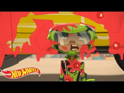 Gag Reel | The Skills to Thrill | Hot Wheels
