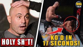 MMA Community React to ONE PUNCH KO in Khamzat Chimaev vs Meerschaert, Woodley vs Covington, results