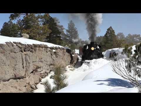 Plowing the Cumbre & Toltec Railroad