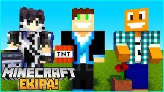 Minecraft z Ekipą!   Hide and Seek   Vertez LJay Hunter
