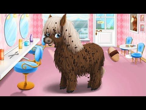 Bañar Y Cortar El Cabello A Animales Adorables - Juegos De Mascotas