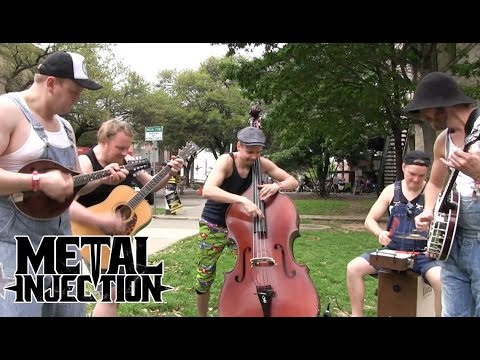 "AC/DC ""You Shook Me All Night Long"" By STEVE 'N' SEAGULLS at SXSW 2016 