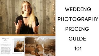 WEDDING PHOTOGRAPHY PRICING GUIDE 101