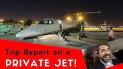 PRIVATE JET flight to Miami