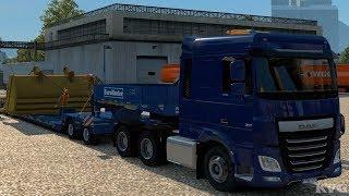 Euro Truck Simulator 2 - Excavator Bucket - Special Transport Gameplay (PC HD) [1080p60FPS]
