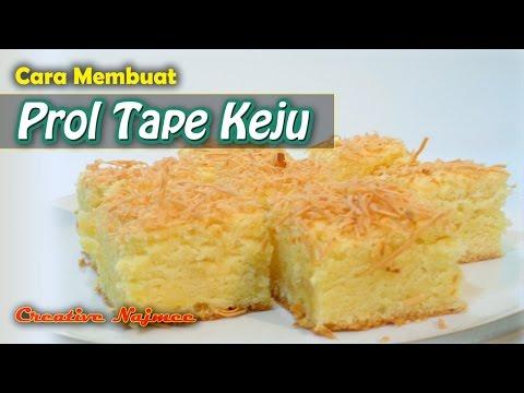 Prol Tape Keju - Resep Masakan dan Cara Membuat Prol Tape Keju - Creative Najmee