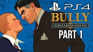 Bully PS4 Gameplay Walkthrough Part 1 - INTRO CHAPTER 1 (Canis Canem Edit)