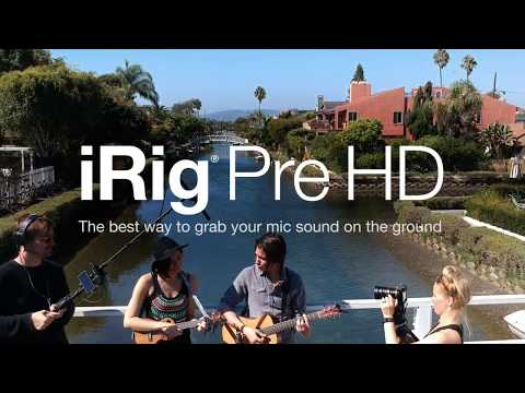 iRig Pre HD - The best way to grab your mic sound on the ground