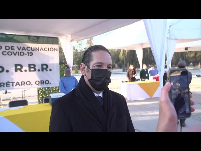 Agradece Gobernador @PanchDominguez a la Federación la llegada de vacunas a la entidad