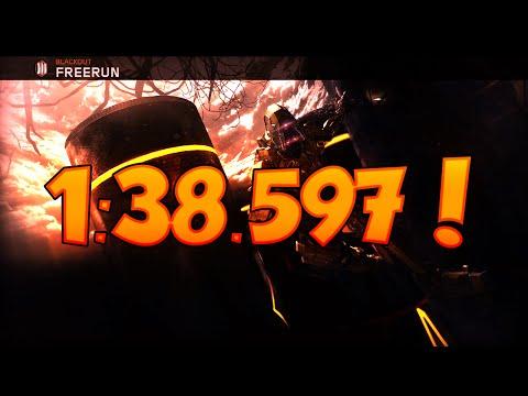 BO3 Freerun Blackout WR 1:38.597! (12/9/15) 1st Place!!!!!