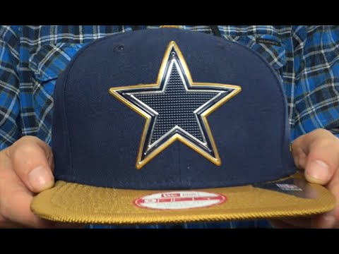 Cowboys  2015 GOLD COLLECTION SNAPBACK  Navy-Gold Hat by New Era ... 71aee4717b0e