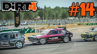 WHAT A BADASS RACE! |Group B Rallycross Cup| DiRT 4 Career Mode Episode 14