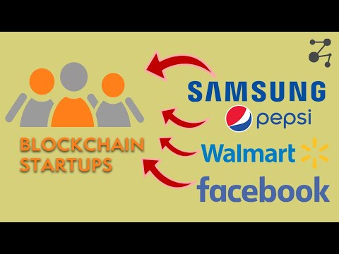 Mega Companies INVESTING in Blockchain   Blockchain Central