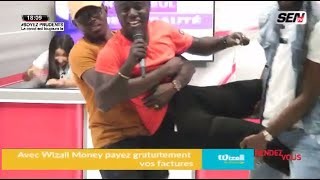 Pawlish Mbaye se fait ejecteter en direct du plateau de Rv