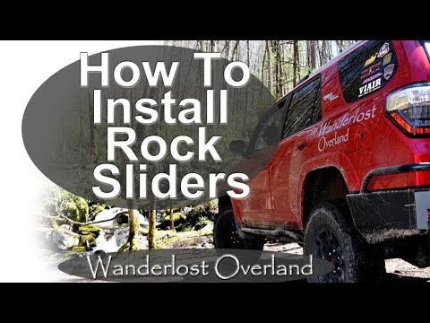 How To Install Rock Sliders- 5th Gen 4Runner