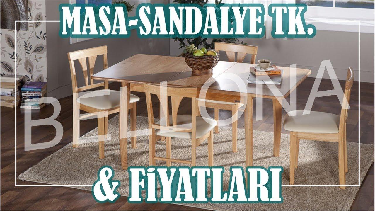 Mutfak Masa Sandalyeleri Bellona Mobilya