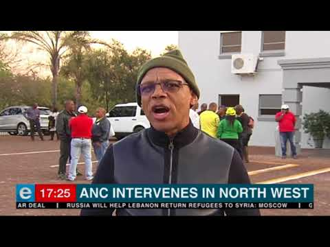 ANC National Working Committee addresses North West issues