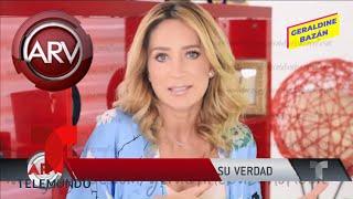 Geraldine Bazán reveló las razones de su divorcio | Al Rojo Vivo | Telemundo