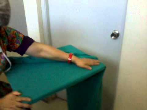 Practica Colocacion de la funda mesa de mayo  YouTube
