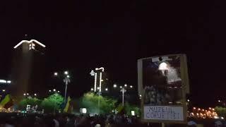 Protest DIASPORA 10 August 2018 Jandarmeria Romana lanseara gaze lacrimogene in protestatari