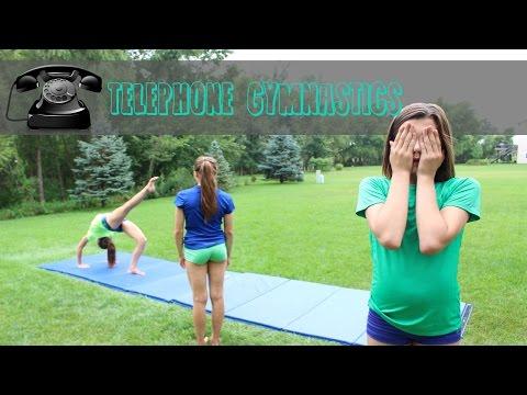 Telephone Gymnastics Challenge! (Chinese Whispers) ▶7:56