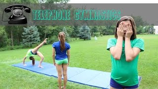 Telephone Gymnastics Challenge! (Chinese Whispers)