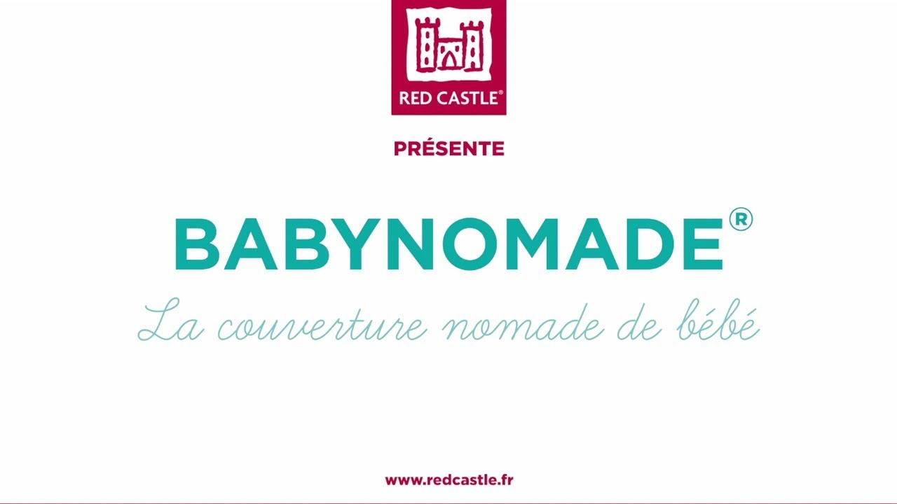 RED CASTLE 0836157 Babynomade Protect Couverture Bleu 0-6 Mois