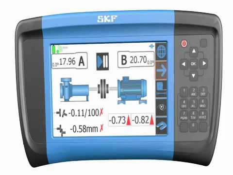 Skf Shaft Alignment Tksa 60 Amp 80 Youtube