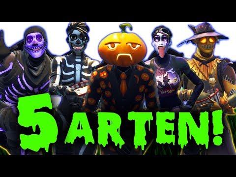 5 ARTEN VON FORTNITE SPIELERN! - TEIL 3!