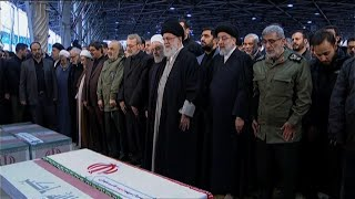 Iran mourns, supreme leader weeps for Soleimani