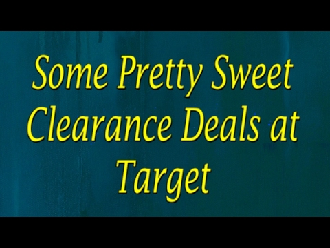 Some Pretty Sweet Clearance Deals at Target Collab with I heart saving money! Feb, 2017