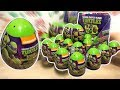 Teenage Mutant Ninja Turtles 18 Kinder Surprise Eggs