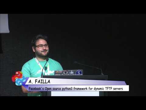 Angelo Failla - FBTFTP: Facebook's open source python3 framework for dynamic TFTP servers.