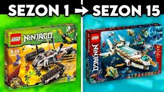 NAJLEPSZE ZESTAWY LEGO NINЈAGO z KAŻDEGO SEZONU
