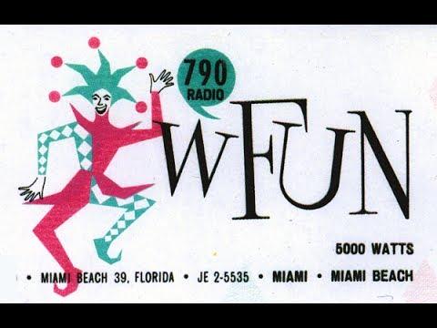 WFUN / South Miami - 1961 URGENT NEWS BULLETIN! (Larry Kane)
