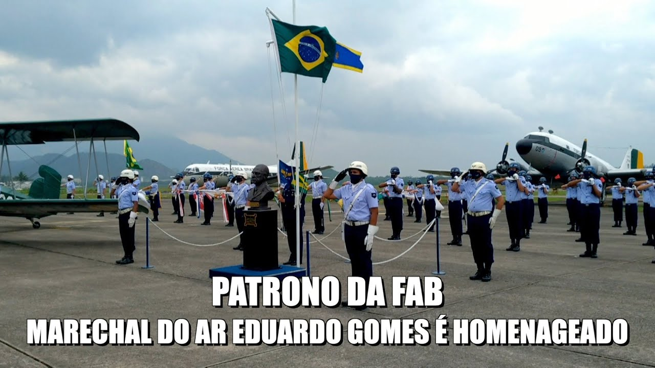 Marechal do Ar Eduardo Gomes é homenageado no Rio de Janeiro