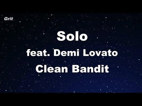 Solo feat. Demi Lovato - Clean Bandit Karaoke 【No Guide Melody】 Instrumental