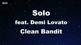 Solo feat. Demi Lovato - Clean Bandit Karaoke 【No Guide Melody】 Instrumental