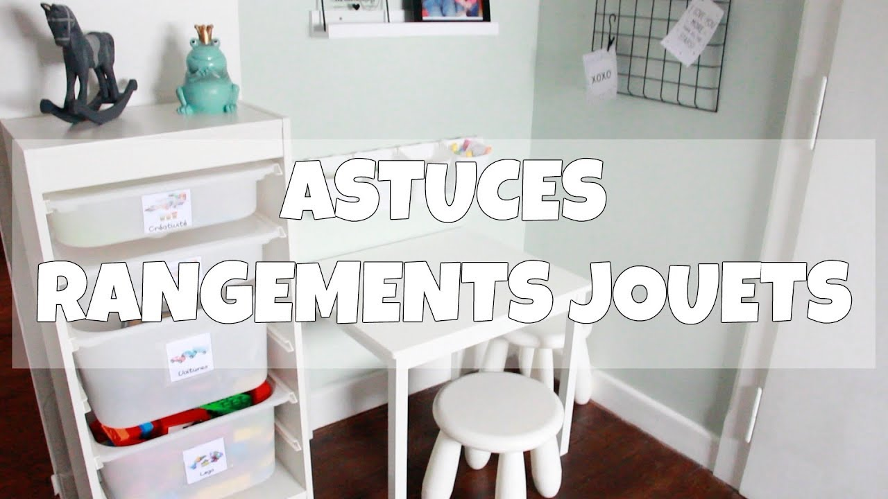 actuces et organisation rangements jeu jouets youtube. Black Bedroom Furniture Sets. Home Design Ideas