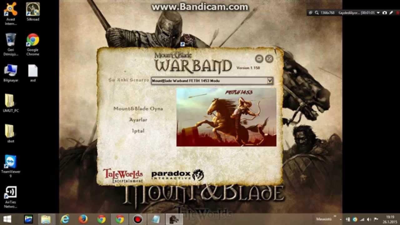 mount and blade warband fetih 1453 modu