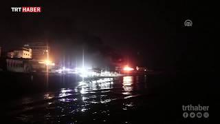 İsrail savaş uçakları iki balıkçı teknesini hedef aldı